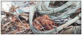 Ritiro cavi elettrici Roma